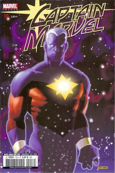 Couverture de Marvel Heroes Hors Série (Marvel France - 2001) -16- Captain Marvel: Danse des ténèbres