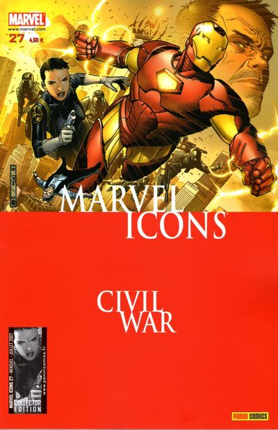 Couverture de Marvel Icons (Marvel France - 2005) -27- Paris sera toujours paris