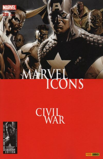 Couverture de Marvel Icons (Marvel France - 2005) -28- Rubicon
