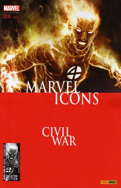 Couverture de Marvel Icons (Marvel France - 2005) -29- Crimes de guerre