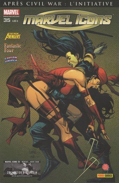 Couverture de Marvel Icons (Marvel France - 2005) -35- En piste!