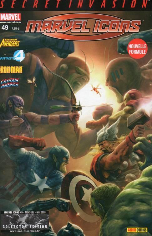 Couverture de Marvel Icons (Marvel France - 2005) -49- L'empire (2)