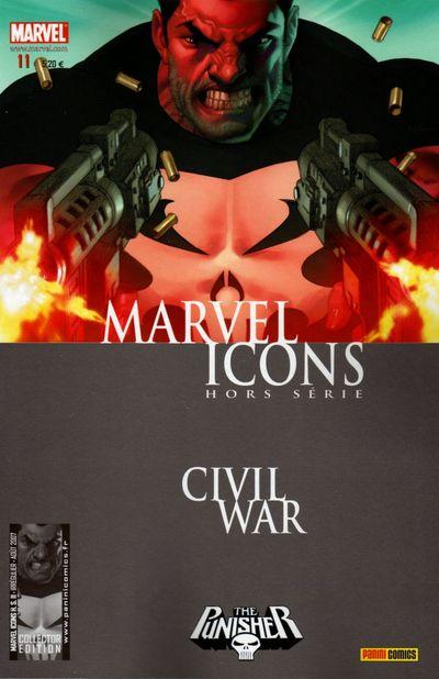 Couverture de Marvel Icons Hors Série -11- Comment j'ai gagné la guerre