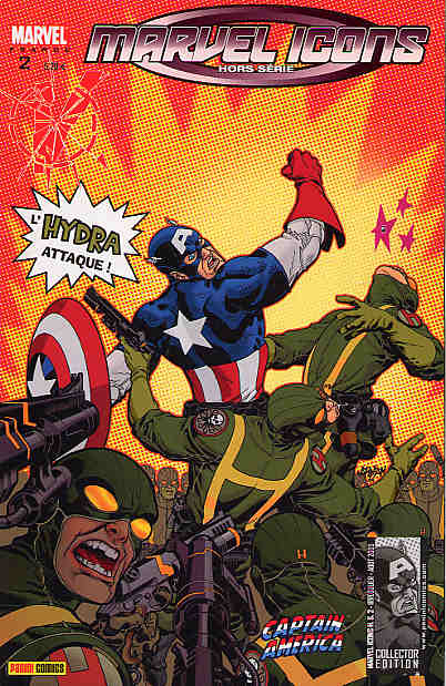 Couverture de Marvel Icons Hors Série -2- Captain America : Super Patriote