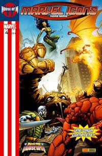 Couverture de Marvel Icons Hors Série -4- Fantastic Four : House of M