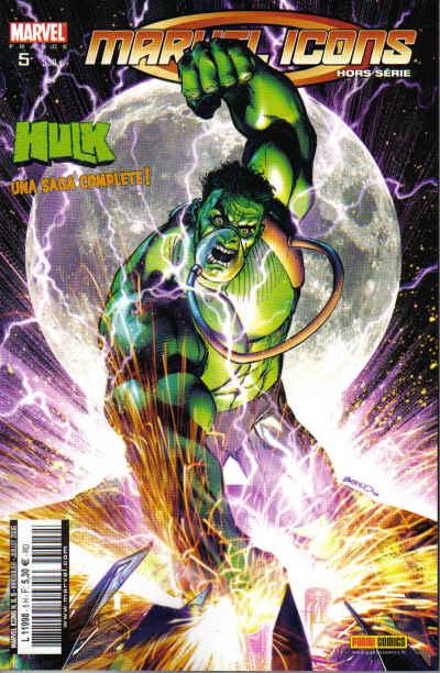 Couverture de Marvel Icons Hors Série -5- Double jeu