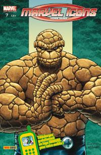 Couverture de Marvel Icons Hors Série -7- La Chose: Riche et célèbre