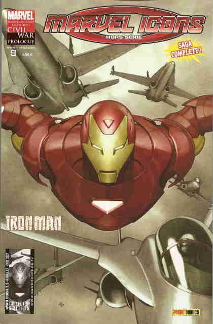 Couverture de Marvel Icons Hors Série -9- Programme éxécution
