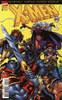 Couverture de Marvel Méga Hors Série -8- X-Men #0