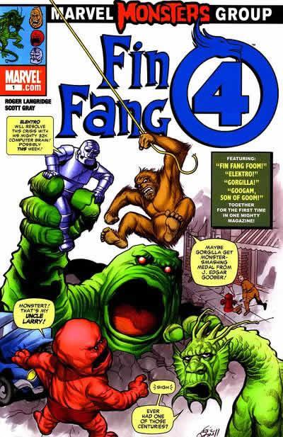 Couverture de Marvel Monsters Vol 1 (2005) - Fin fang four