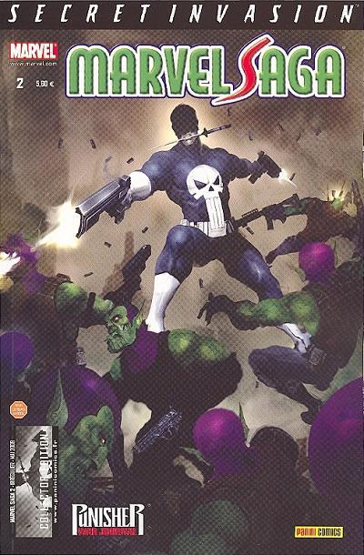 Couverture de Marvel Saga (1re série - 2009) -2- Secret invasion