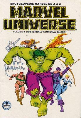 Couverture de Marvel Universe (LUG) -3- Eternals - Imperial Guard
