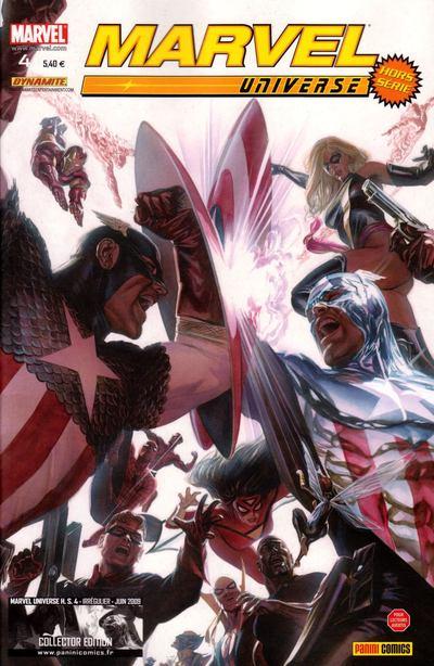 Couverture de Marvel Universe Hors Série (Panini - 2008) -4- Vengeurs/Envahisseurs (2)