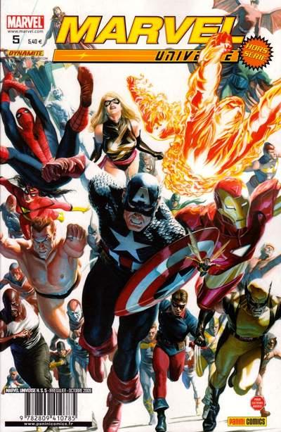 Couverture de Marvel Universe Hors Série (Panini - 2008) -5- Vengeurs/Envahisseurs (3)