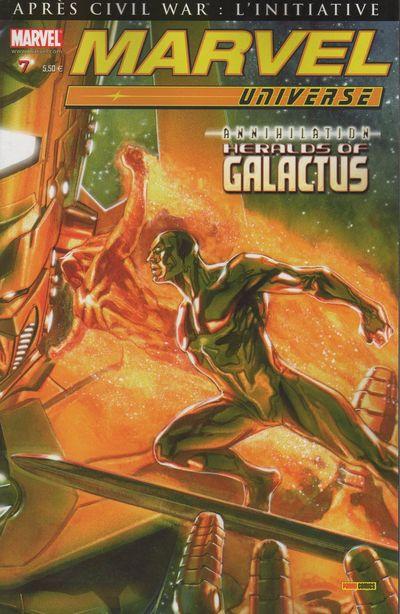 Couverture de Marvel Universe (Panini - 2007) -7- Aliénation