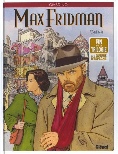 Couverture de Max Fridman (Les aventures de) -5- Sin ilusión