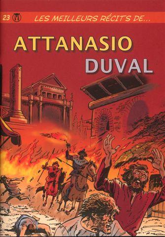 Couverture de Les meilleurs récits de... -23- Attanasio