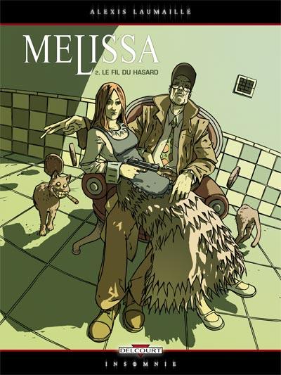 Couverture de Melissa -2- Le fil du hasard