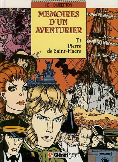Couverture de Mémoires d'un aventurier -1- Pierre de Saint-Fiacre
