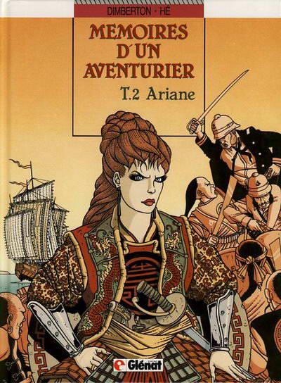 Couverture de Mémoires d'un aventurier -2- Ariane