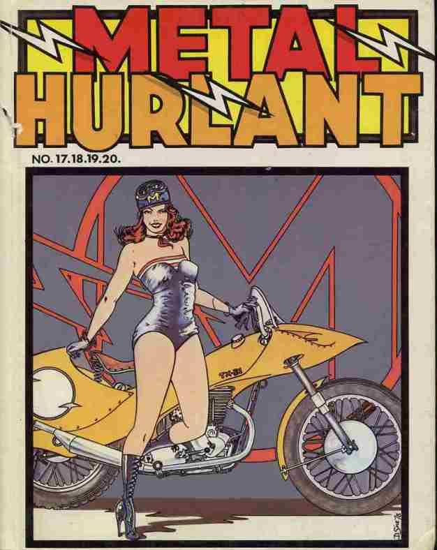 Couverture de (Recueil) Métal Hurlant -5- Recueil Métal Hurlant du N°17 au N°20