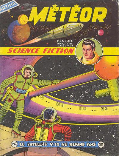 Couverture de Météor (1re Série - Artima) -60- Le satellite