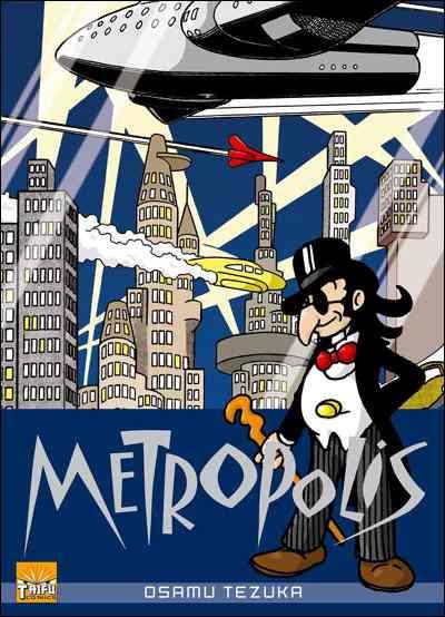 Couverture de Metropolis (Tezuka) - Metropolis