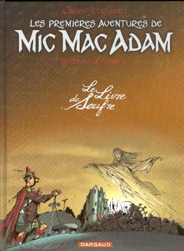 Couverture de Mic Mac Adam -INT3- Le Livre de Soufre