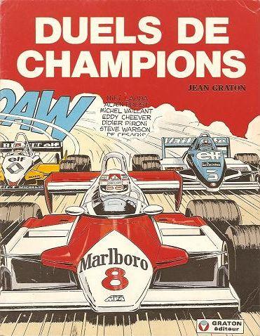 Couverture de Michel Vaillant -42Pub- Duels de champions