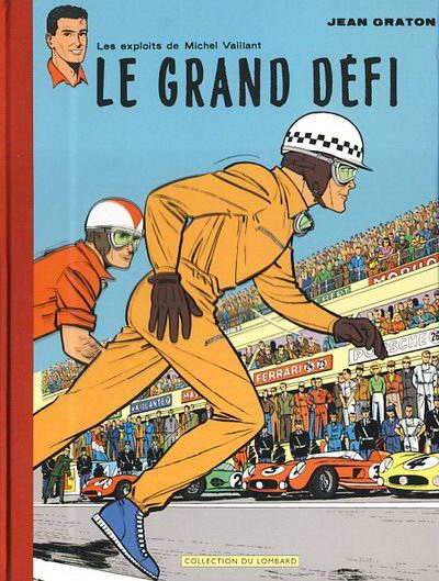 Couverture de Michel Vaillant -INT- Le grand défi / Le pilote sans visage