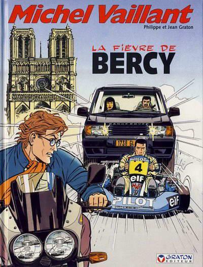 Couverture de Michel Vaillant -61- La fièvre de Bercy