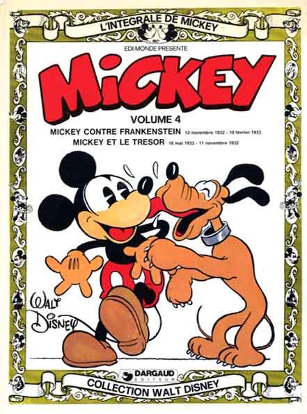 L'intégrale de Mickey (Tome 4) sur Bookys