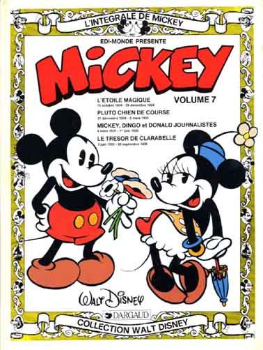 L'intégrale de Mickey (Tome 7) sur Bookys