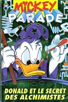Couverture de Mickey Parade -161- Donald et le secret des alchimistes