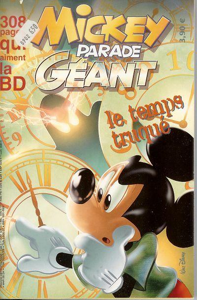 Couverture de Mickey Parade -290- Le temps truqué
