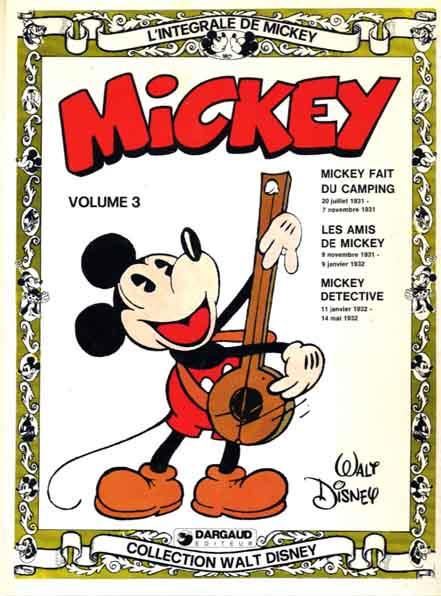 L'intégrale de Mickey (Tome 3) sur Bookys
