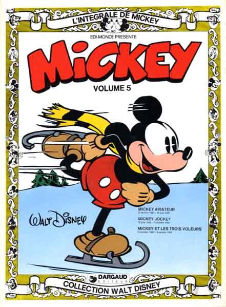 L'intégrale de Mickey (Tome 5) sur Bookys