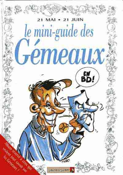 Couverture de Le mini-guide -3- Le mini-guide des Gémeaux