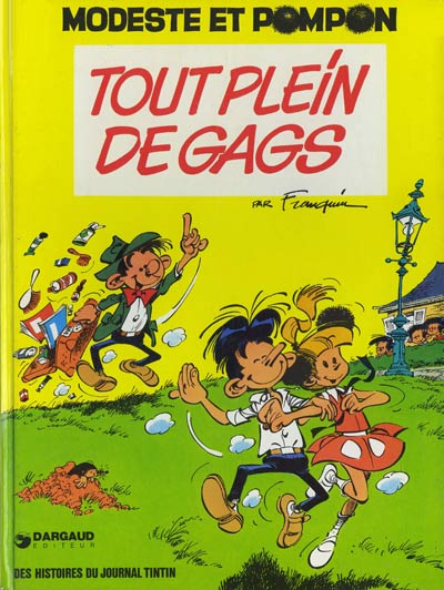 Couverture de Modeste et Pompon (Franquin) -3- Tout plein de gags