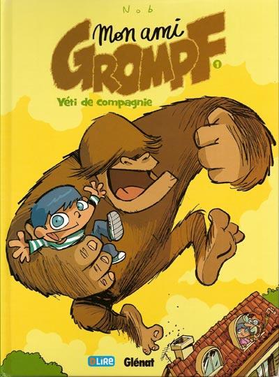 Couverture de Mon ami Grompf -1- Yéti de compagnie