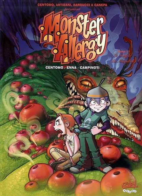 Couverture de Monster Allergy -11- Le Souffle du Mugalak