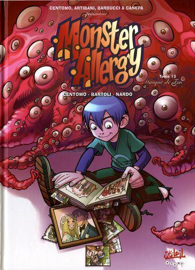 Couverture de Monster Allergy -13- Masque de feu