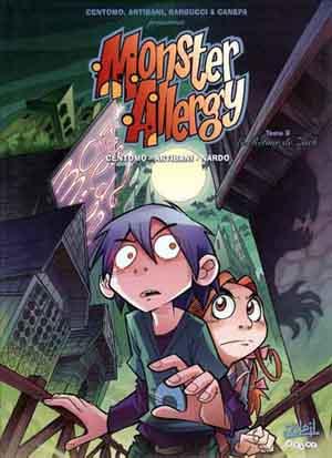 Couverture de Monster Allergy -9- Le retour de Zach