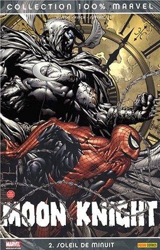 Couverture de Moon Knight (100% Marvel - 2007) -2- Soleil de minuit