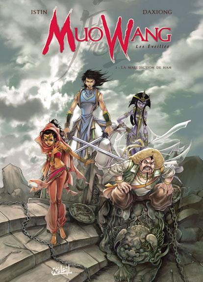 Couverture de Muowang - Les Éveillés -1- La malédiction de han