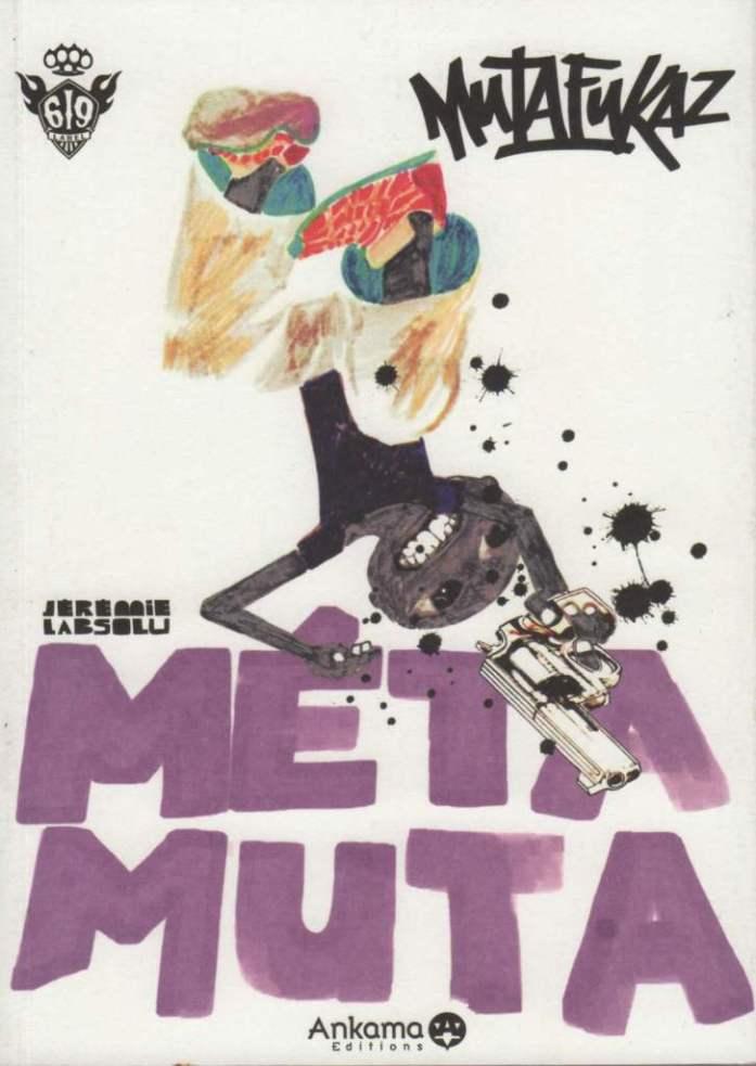Couverture de Mutafukaz -HS- Métamuta