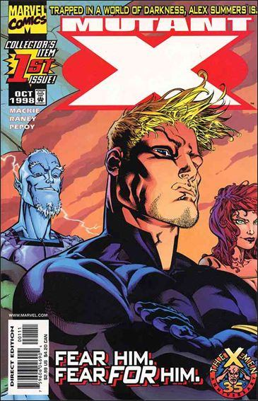 Couverture de Mutant X (1998) -1- In the End... As In the Beginning
