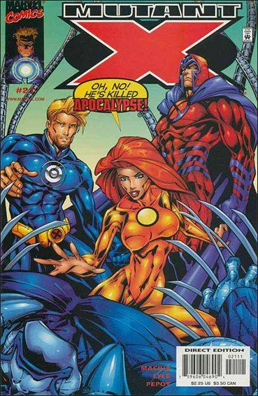 Couverture de Mutant X -21- The good... the bad... and things get ugly