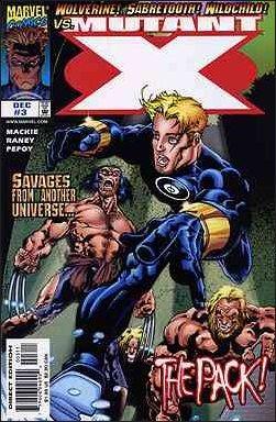 Couverture de Mutant X (1998) -3- The pack