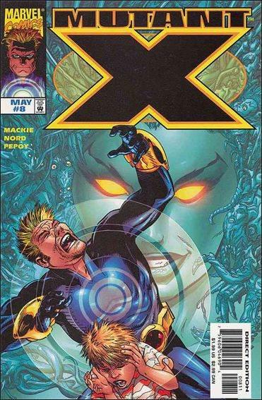 Couverture de Mutant X (1998) -8- The reign of the queen